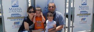 La famiglia Parete riunita: tutti salvi «Non ci speravamo più»