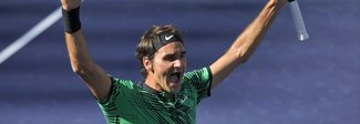 Federer senza tempo: trionfa a Indian Wells, Wawrinka si arrende in due set