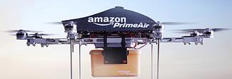 """Amazon brevetta i """"magazzini volanti"""" per le consegne con i droni"""