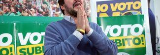 Salvini sfida Berlusconi: «Lui il capo? Non è scritto nei dieci comandamenti»