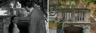 Ritorno a via Margutta 51: ecco com'è oggi la terrazza di Gregory Peck e Audry Hepburn