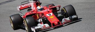 GP di Spagna, vince Hamilton con la Mercedes, la Ferrari di Vettel è seconda