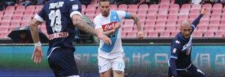 Start con Chievo-Fiorentina Stasera la supersfida del Meazza tra Milan e Napoli