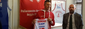 Il ritorno di Kaukenas a quasi 40 anni: «Reggio ha il modello vincente»