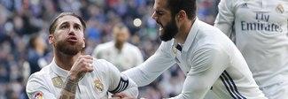 Il Real torna al successo con la doppietta di Sergio Ramos