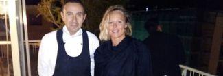 La Divina Pellegrini conclude il tour napoletano nel ristorante panoramico