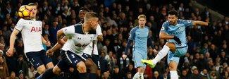 Conte sorride: pari tra Tottenham e Manchester City. Cade il Liverpool, Rooney da record