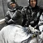 Islanda, bufera sulla Coppa di Lega: i panchinari sommersi dalla neve