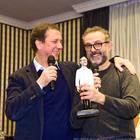 Maurizio Cortese con Massimo Bottura