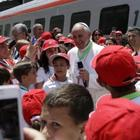 I bambini del terremoto vanno da Papa Francesco con un treno speciale