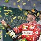Straordinaria Ferrari in Australia: Vettel piega Hamilton e vince il GP sul podio le due Mercedes