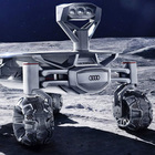 L'auto sbarca sulla Luna, Audi in prima fila nella nuova sfida con il suo Lunar Quattro
