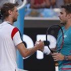 Australian Open, Seppi si arrende a Wawrinka. Murray eliminato da Zverev che affronterà Federer ai quarti
