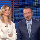 Francesca Fialdini e Franco Di Mare