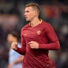 """Roma, Dzeko one man show: una grazia """"dimenticata"""" fa vincere la partita"""
