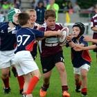 Oltre 700 piccoli rugbysti in gara da tutta Italia e dall'estero per il Trofeo