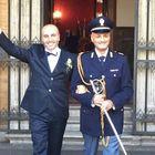 A Roma la prima unione tra un poliziotto in divisa e il compagno