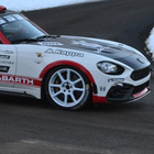 La nuova Abarth 124 rally è pronta per il debutto al rally di Montecarlo