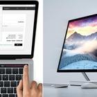 Macbook Pro contro Surface Studio: va in scena la sfida dei super-pc tra Apple e Microsoft