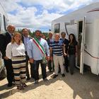 Ford e ALD donano 6 camper a terremotati del centro Italia. Mezzi consegnati al sindaco di Cittàreale