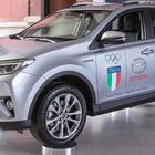 Partnership Coni-Toyota, le vetture giapponesi auto ufficiali dell'Italia Team fino al 2024