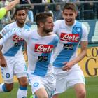 Insigne e Mertens trascinatori Il Napoli vince a Empoli col brivido