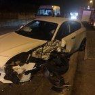 Pauroso incidente ad Alatri, feriti una donna e un uomo.Traffico in tilt