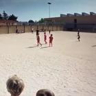 Cristiano Ronaldo, il gol del figlio diventa virale Video