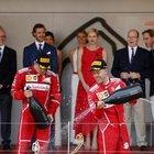 Trionfo Ferrari al Gp di Montecarlo La Rossa vince dopo 16 anni: doppietta Vettel-Raikkonen