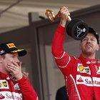 """• Vettel: """"Fantastico"""". Raikkonen deluso: """"Non sono felice"""""""