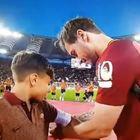 Roma, Totti ha scelto il suo erede: ecco chi è il bimbo con la fascia