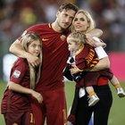Totti: «Roma ti amo, ma adesso ho paura: stammi vicino»