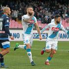 Napoli con la difesa a pezzi: Tonelli e Albiol stringono i denti
