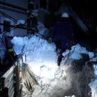 Emergenza neve, gli operai Enel al lavoro di notte in Abruzzo per riportare l'energia elettrica Video