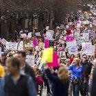 Marcia delle donne anti-Trump A Washington 500mila in piazza Proteste in tutto il mondo