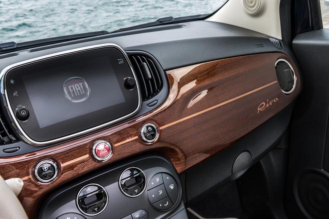 fiat 500 riva il piccolo yacht su ruote. Black Bedroom Furniture Sets. Home Design Ideas