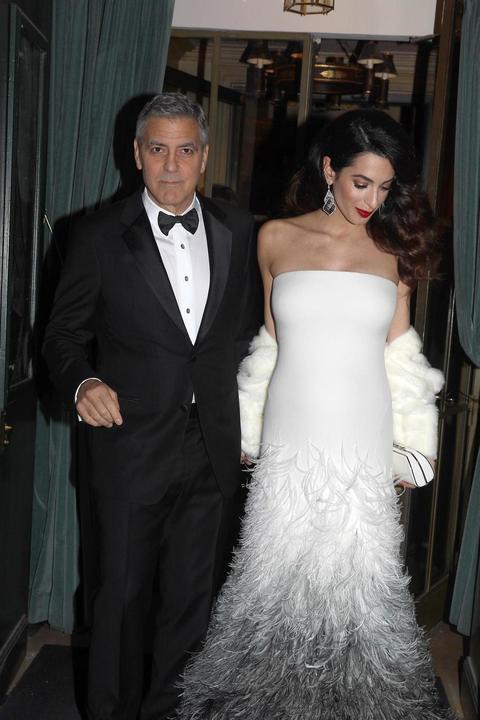6f30c9471020 George Clooney e Amal col pancione - Corriere Adriatico.it