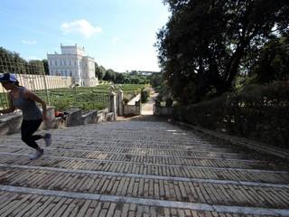 Jogging a Villa Pamphili