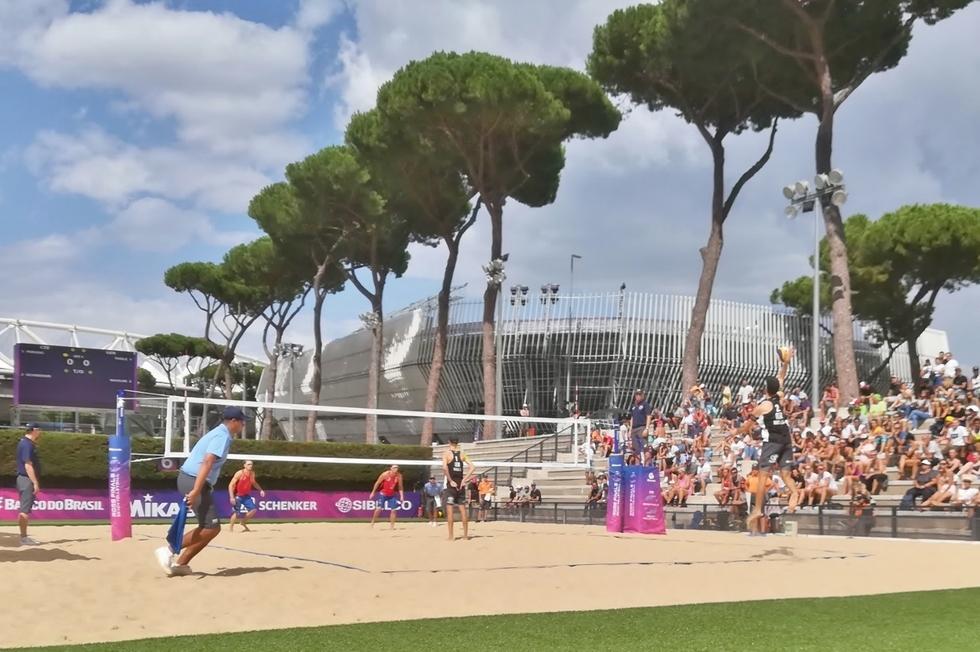 Foro Italico - Rome Beach Finals 2019