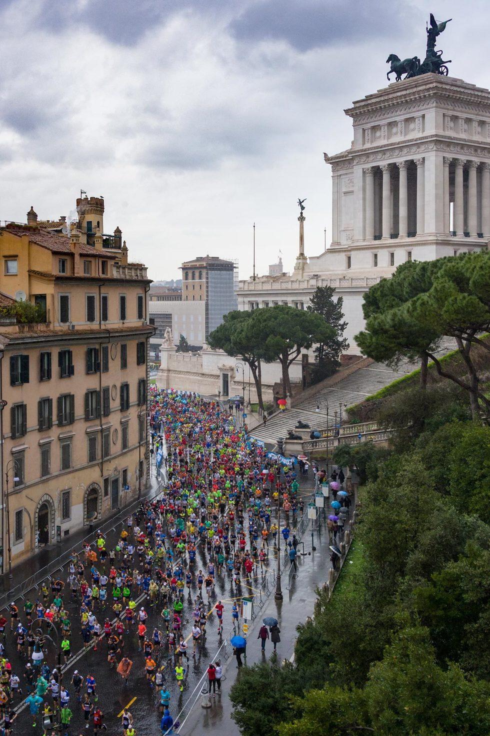 Vista sulla Maratona