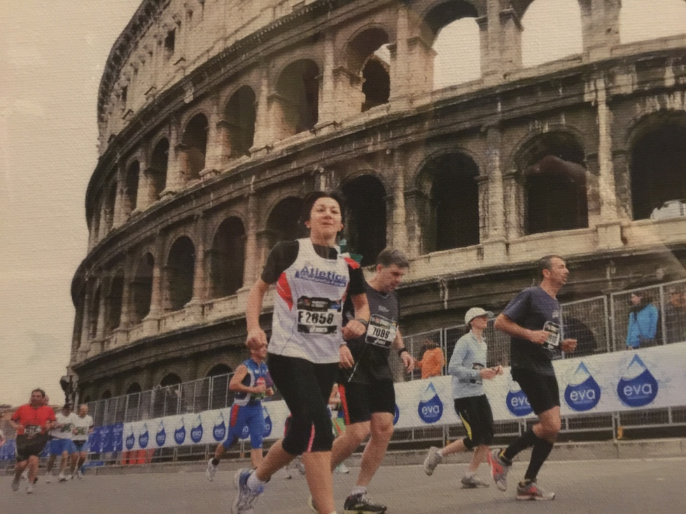 Maratona al Colosseo
