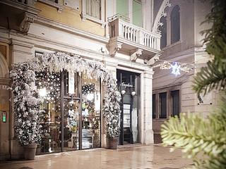 White Christmas - Fioreria Alloniv Galleria Matteotti