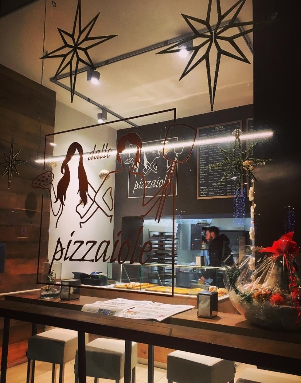"""""""Dalle pizzaiole"""" piazzale Leonardo Da Vinci 15"""