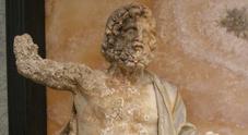 Dopo decenni torna a Baia «Zeus in trono»: mostra al Castello