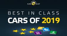 Euro NCAP, nel 2019 i test migliori di sempre: ecco i modelli vincitori di tutte le categorie