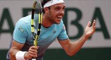 Roland Garros, l'impresa di Cecchinato contro Djokovic
