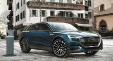 Audi, Enel e Cortina d'Ampezzo insieme per sviluppare la mobilità elettrica