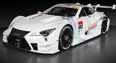 Lexus, il nuovo gioiello da corsa debutta nel 2017 nella serie super GT