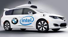 Fca si allea con Bmw e Intel per le auto a guida autonoma