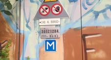 La cabina Enel di via Anconetta a Belluno